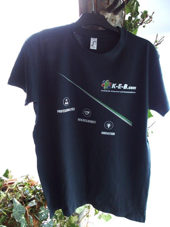 Bedruckte Mitarbeiter T-Shirt für KEB